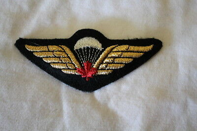 Canadian Forces Airborne Para Red Leaf Mylar Wing Full Size