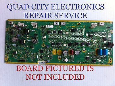 TNPA5351AM, AQ, AH, AG REPAIR SERVICE Panasonic SC Board TC-P50S30 Etc. +Screws