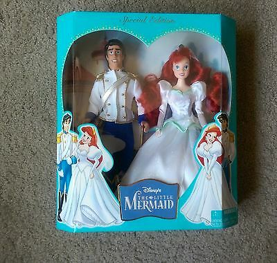 Special Edition Disney's Little Mermaid: Ariel and Eric Barbies