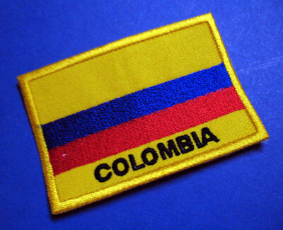 REPUBLIC OF COLOMBIA NATIONAL FLAG Sew on Patch