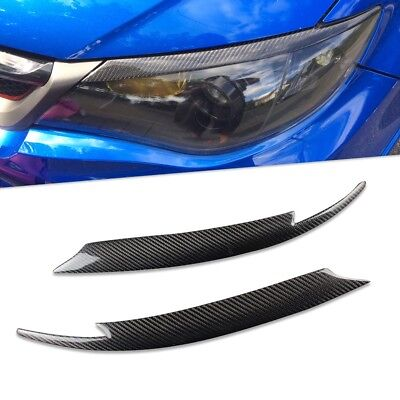 Carbon Fiber Headlight Eyelids Eyebrows for Subaru Impreza WRX STi X 10th GRB