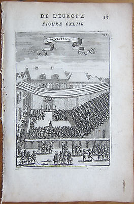 MALLET: Inquisition Portugal - 1683