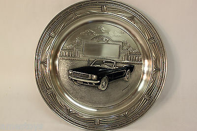 Bradford Exchange Collector Plates America's Favorit Classic Cars Lot(4)