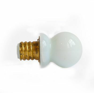 30% OFF - Vintage Milk Glass Ball Hoosier Knob, E1531 FREE SHIPPING