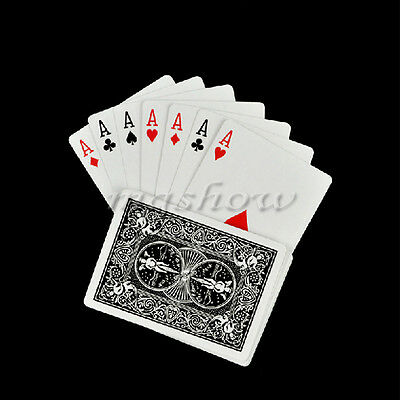 Magic Trick Playing Card Svengali Stripper Marked Prediction Taper Poker 4A Deck