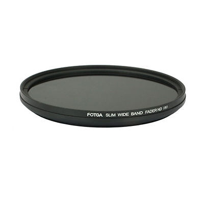 82mm Lens Filter Kit Slim Adjustable Variable Fader ND2 to ND400 Neutral Density