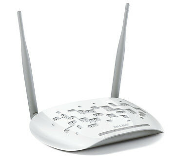 Tp-Link Access Point Wireless 300Mbps Antenne Staccabili Tl-Wa801Nd