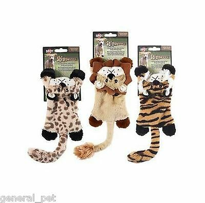 Spot Skinneeez Flat Cats Dog Toy 12 inch Assorted