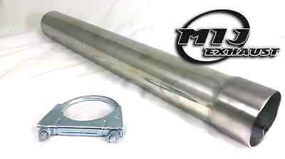 Stainless Steel Exhaust Pipe Connector Decat Silencer Tube Expanded Chimney Flue