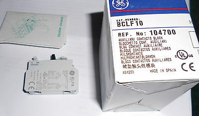 Ge Auxiliary Contacts Block Part No. Bclf10,