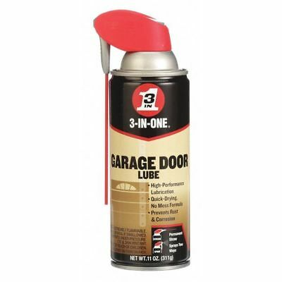 Garage Door Lubricant, Aerosol Can, 11 Oz. 3-IN-ONE 100581