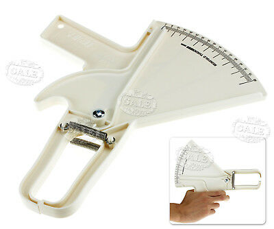 0-80mm Body Fat Measurement Tester Slim Guide Skinfold Calipers
