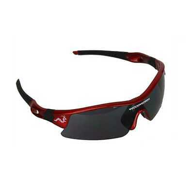 Woodworm Pro Series Sunglasses (Red) inc Free Hard Case