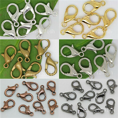 Lot 100pcs Jewelry Loose Lobster Parrot Clasp Claw For Diy necklace bracelets