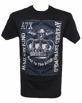 AVENGED SEVENFOLD - HAIL TO THE KING CROWN - Official T-Shirt - New M L XL