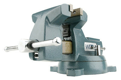"Wilton 4"" 740 Series Mechanics Vise w/ Swivel Base 21300 New"