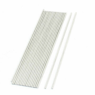 20pcs RC Model Airplane Replacement Stainless Steel Round Bars 160x2.5mm