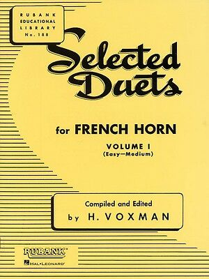 Selected Duets for French Horn Volume 1 - Easy to Medium Ensemble Coll 004471000