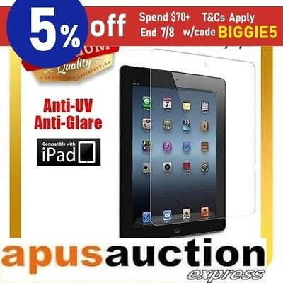 Clear Screen Protector Flim for New iPad 3 4 with Retina Display iPad2 Cover