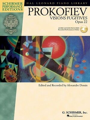 22 With Access to Online Audio  000296825 Sergei Prokofiev Visions Fugitives Op
