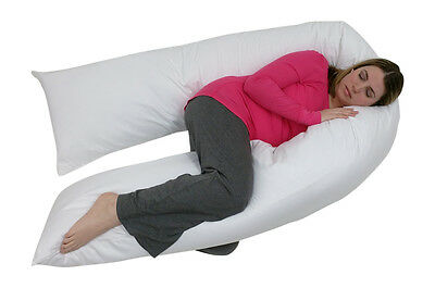 Total Body Pregnancy Pillow- Full Support- 400 Thread Count - 1 Year Warranty
