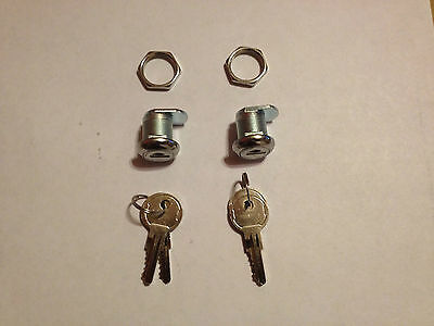 2 UWS Truck Toolbox Key Lock With 4 keys- Keyed Alike Fits alot Paddle Handles