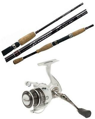 Pflueger 7 ft Trion Fishing Rod and Reel Combo-1-3kg 2 Pce Graphite Rod/30 Reel