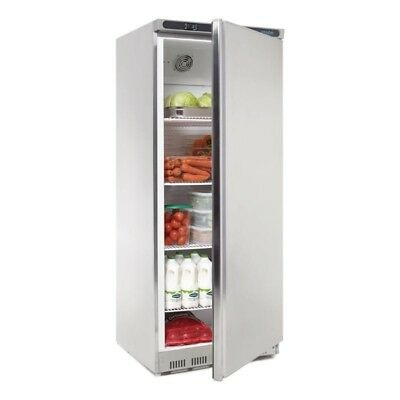 Polar Stainlesss Steel Single Door Upright Commercial Fridge 600 Ltr CD084