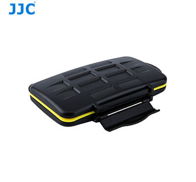JJC MC-XQD6 Water-Resistant Anti-shock Memory Card Case for 6 x XQD Cards