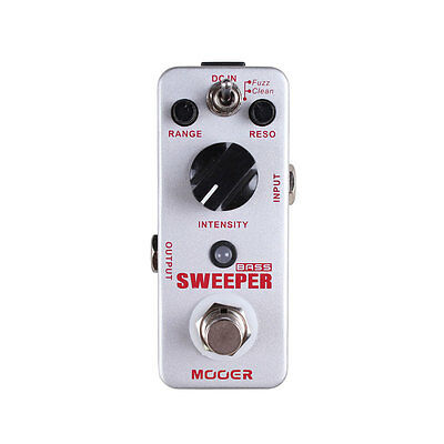 Mooer Audio MBEF1 Sweeper Bass Envelope Filter Effect Pedal - Brand New!