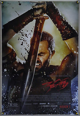 300: Rise Of An Empire Ds Rolled Adv Orig 1Sh Movie Poster Eva Green (2014)