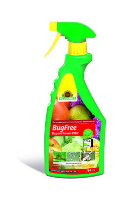 Neudorff Natural Pyrol Bug and Larvae Killer 750ml Spray