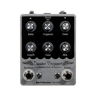 EarthQuaker Devices Disaster Transport Modulated Delay Guitar Effect Pedal