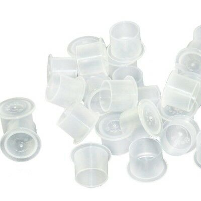 200 x 20mm EXTRA LARGE TATTOO INK CUP / CAP with stability base. ALL SUPPLIES UK