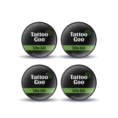 4 x TATTOO GOO AFTERCARE TIN . HEALING & PROTECTION 21G  UK