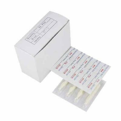 50 x ANY SIZE DIAMOND DISPOSABLE TATTOO TIPS - TOP QUALITY UK SELLER 3,5,7,11,14
