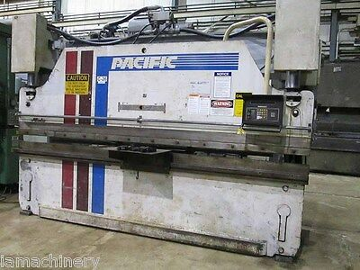 110 Ton x 12' Pacific Model J110-12 Hydraulic CNC Press Brake, S/N 9999 (1986)