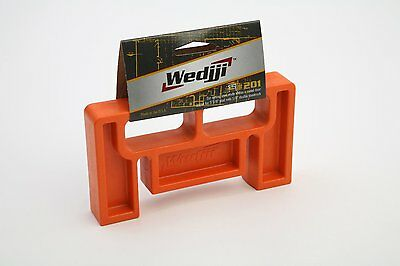 "Wedjji #201 Steel Frame Alignment Tool for 3 5/8"" Stud with 5/8"" Double Drywall"