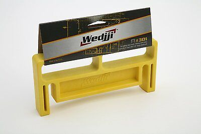 "Wedjji #301 Steel Frame Alignment Tool for 6"" Studs with 5/8"" Drywall"