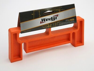 "Wedjji #401 Steel Frame Alignment Tool for 6"" Studs with 5/8"" Double Drywall"