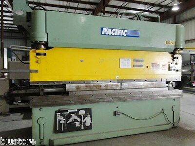 175 Ton x 12' Pacific Model J175-12 CNC Hydraulic Press Brake, S/N A1014 (1992)