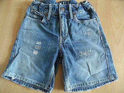 H&M coole used destroyed Jeans Shorts Gr. 128 NEUw.   (SH814)