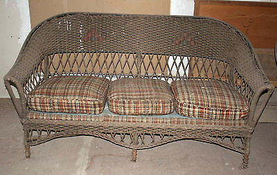Wicker Couch