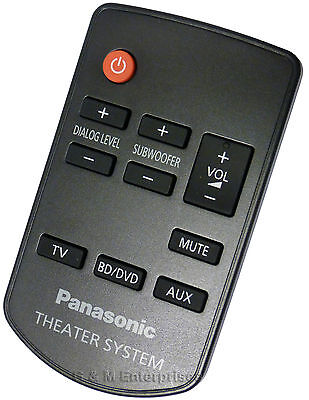 New Panasonic N2QAYC000064 Remote Control for SC-HTB20 and SU-HTB20 - US Seller
