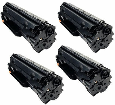4PK New Compatible Toner Cartridges CF283A for HP 83A M127fn,M127fw,M125nw