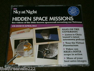Bbc - Sky At Night Cd Rom # 95 - April 2013 - Hidden Space Missions