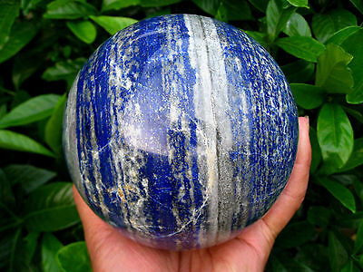 3490g HUGE NATURAL Lapis Lazuli quartz crystal sphere ball healing