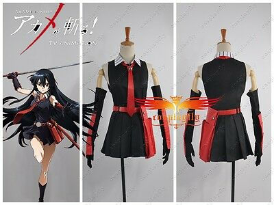 Akame ga Kill Akame Dress Cosplay Costume Custom Made Skirt For Halloween