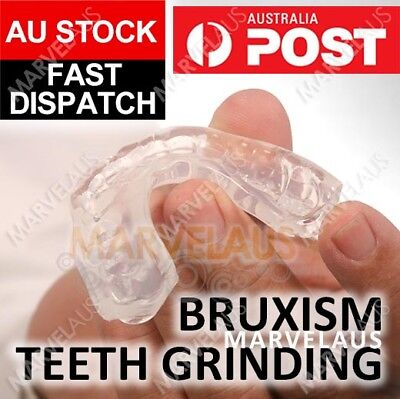 Teeth Grinding Mouthguard Mouth Guard Night Bruxism Clenching Sleeping Dental AU