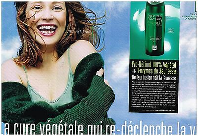 2 Pages Breweriana, Beer Publicite Advertising 124 1992 Institut Yves Rocher Cosmétiques